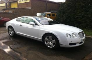 bentley wedding car hire corby