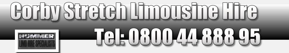 corby limo hire, pink limo kettering and corby